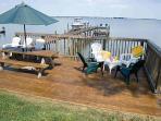 Waterside Deck and dock