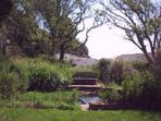 The private seaside garden