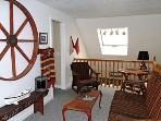 Loft Sitting Area - Upstairs