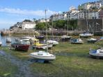 Nearby Brixham, local fishing port