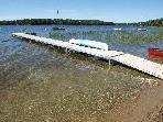 Dock & Lake looking north