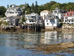 Stonington Harbor on Deer Isle. ME