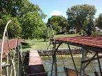 Backyard Dock.