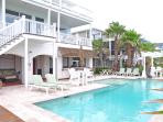 Oceanfront Home with Pool, Summer Kitchen, and Private Boardwalk to the Beach