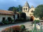 Carmel Mission - One of Father Junipero Serra's original California missions