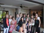 Group fun at Villa  (girls trip)