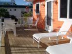 sprawling deck
