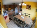 Aspen Grove kitchen and nook