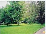 lawn outside East Wing