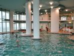 Indoor pool area - huge, hot tubs, steam room, sauna, etc
