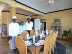 Main Dining Room & Staff