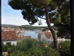 View from the window, Villa Ida, Milna Brac Island