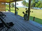 The front deck of the Pearl Shack