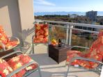 Sunny balcony on 19th Floor