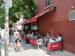 Relaxing Breakfast here