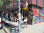 Rush hour in the hood