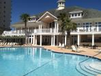 Private Beachfront Clubhouse With Indoor & Outdoor Pools, Tiki Bar, Saunas, & Exercise Center