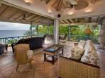 The open floor plan of Sunset Watch Upper Level Villa allows maximum flexibility for guests.