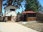 Backyard - Hot Tub and Tree House