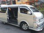 van Hire Manila - Baguio - Manila Luxury Grandia