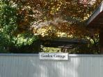 Garden Cottage - you have arrived!