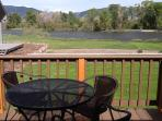 New deck for 2013 season, same relaxing view.