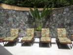 Sun terrace shared with pool and bar area