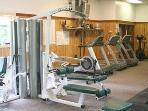 Recreation center exercise room