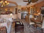 The open floor plan of Sundowner beachfront villa allows for maximum flexibility. Sundowner Villa.