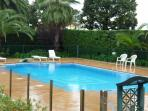 The outdoor swimming-pool