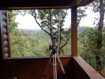 You can take a peak at the heavens through this telescope