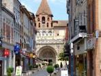 Moissac monastery 25min from Touffailles