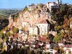 Rocamodour home of black Madonna 1.20min from Touffailles