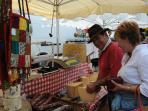 Montquc Sunday market