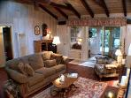 Redwood Rendezvous, Fireplace, Guerneville, CA Rental