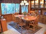 Redwood Rendezvous, Dining Room, Russian River Getaway