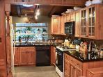 Redwood Rendezvous, Kitchen, Sonoma County Rental CA