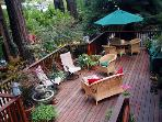 Redwood Rendezvous, Lovely Back Deck, BBQ, Views