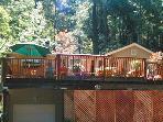 Redwood Rendezvous, Family Rental in Redwoods, Near River