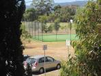 Public Tennis court adjacent