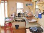 Inside The Blue Loft ~ Adorable Kitchenette