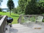Relax from the deck with water views!