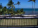 Ocean view from condo balcony