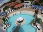 VIP pool arial view