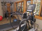 Just 1/2 of the Fitness Center - Universal Machine, Elliptical, Treadmill