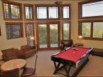 1 of 2 Game Rooms with Pool Table and Air Hockey Table