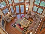 1 of 2 Upper Level Living Rooms