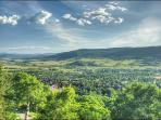This is just part of the amazing panoramic view