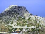 St.Hilarion crusader castle, sits above Kyrenia, well worth a visit.