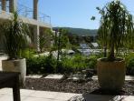 Garden viewed from Braai patio